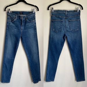 EUC Citizens of Humanity Rocket Ankle HR Skinny 28